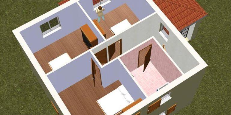 9 ETAGE 3D -Maison 137,46m2