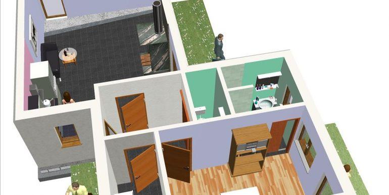 9 P baja - Vivienda 72,16 m²