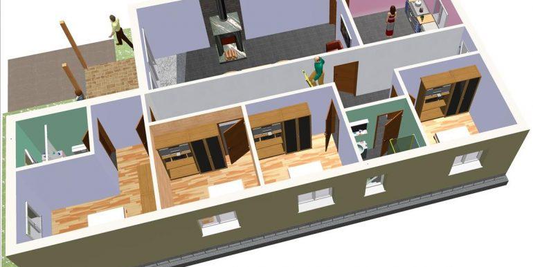 9 Vivienda ref 128,78 m² a