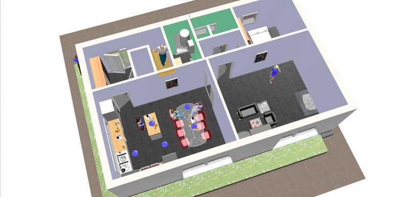 9, maisons modernes