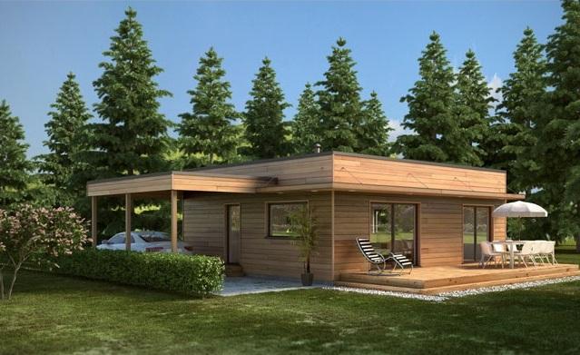 Maison moderne 96,00 m² – Prix Nous Consulter – Conforme à la RT 2020 –