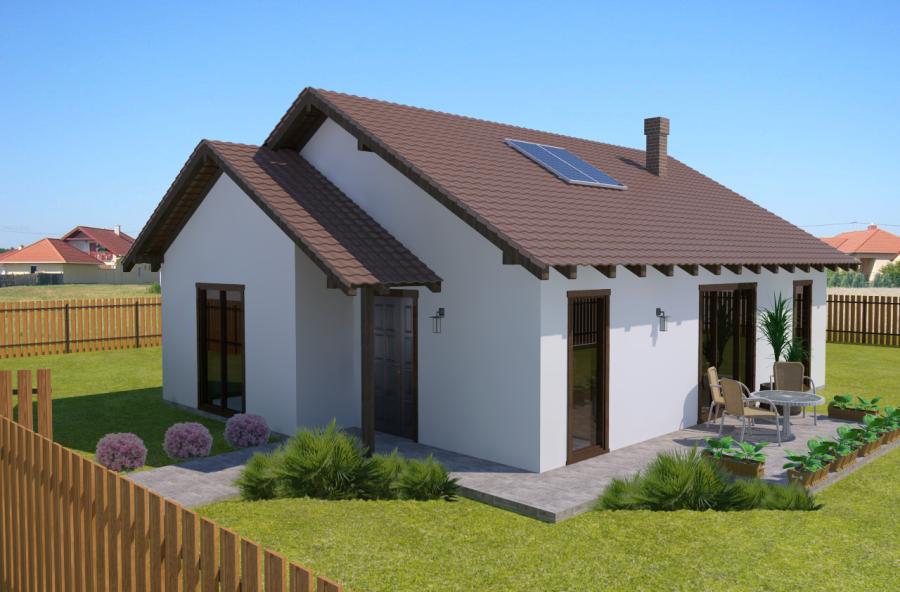 Maison 68,48 m² Prix 75.096,87 € TTC – Conforme à la RT 2020-