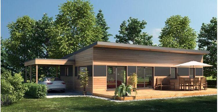 Oferta Casa prefabricada de madera 100,00 m²