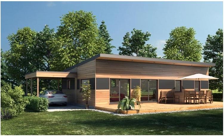 Maison moderne contemporaine 100,00 m² – Prix Nous Consulter – Conforme à la RT 2020-