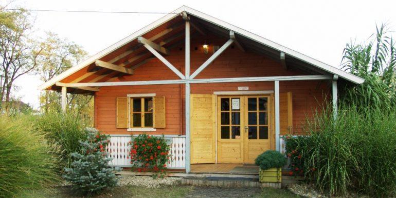 Chalet de madera 90,40 m²