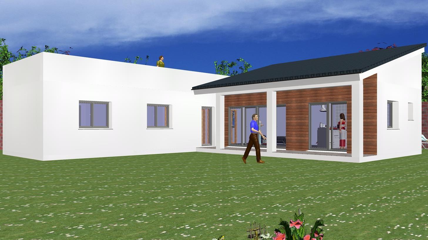 Maison moderne 130,00 m² – Prix Nous Consulter – Découvrez nos offres