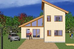Construction Maison Bois Modernes et Contemporaines en Ossature bois