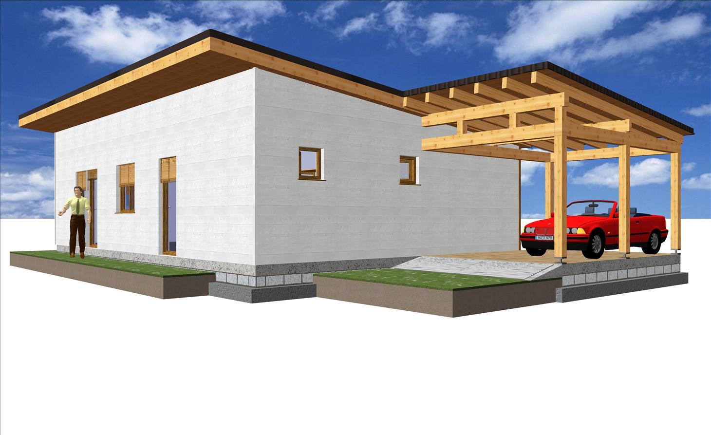 Maison 111,90 m² Prix 110.671,40 € TTC – Conforme à la RT 2020 –