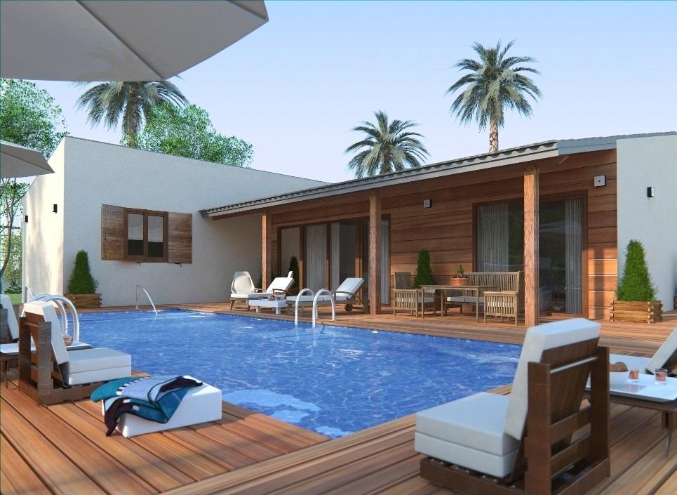 Maison moderne Surface construite total 111 m² Prix Nous Consulter