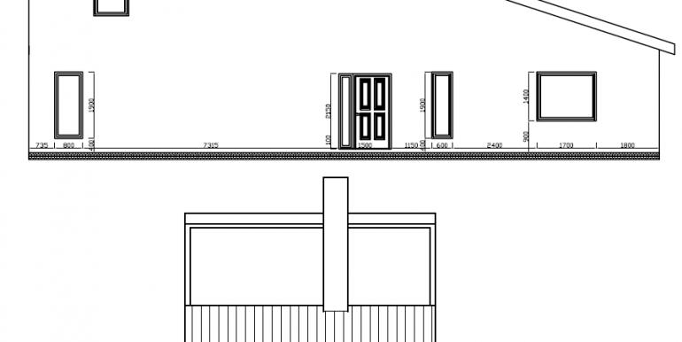 Maison individuelle avec combles aménagés fachades