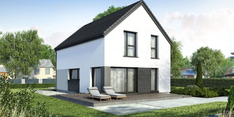 Maison individuelle ossature bois 140