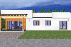 Votre maison moderne à toit plat avec grandes baies vitrées et toit-terrasse. Prix de Maisons en ossature bois et Avantage des toitures terrasses ou toit plat, d'accés extrémement facile, il peut aisément se prolonger.
