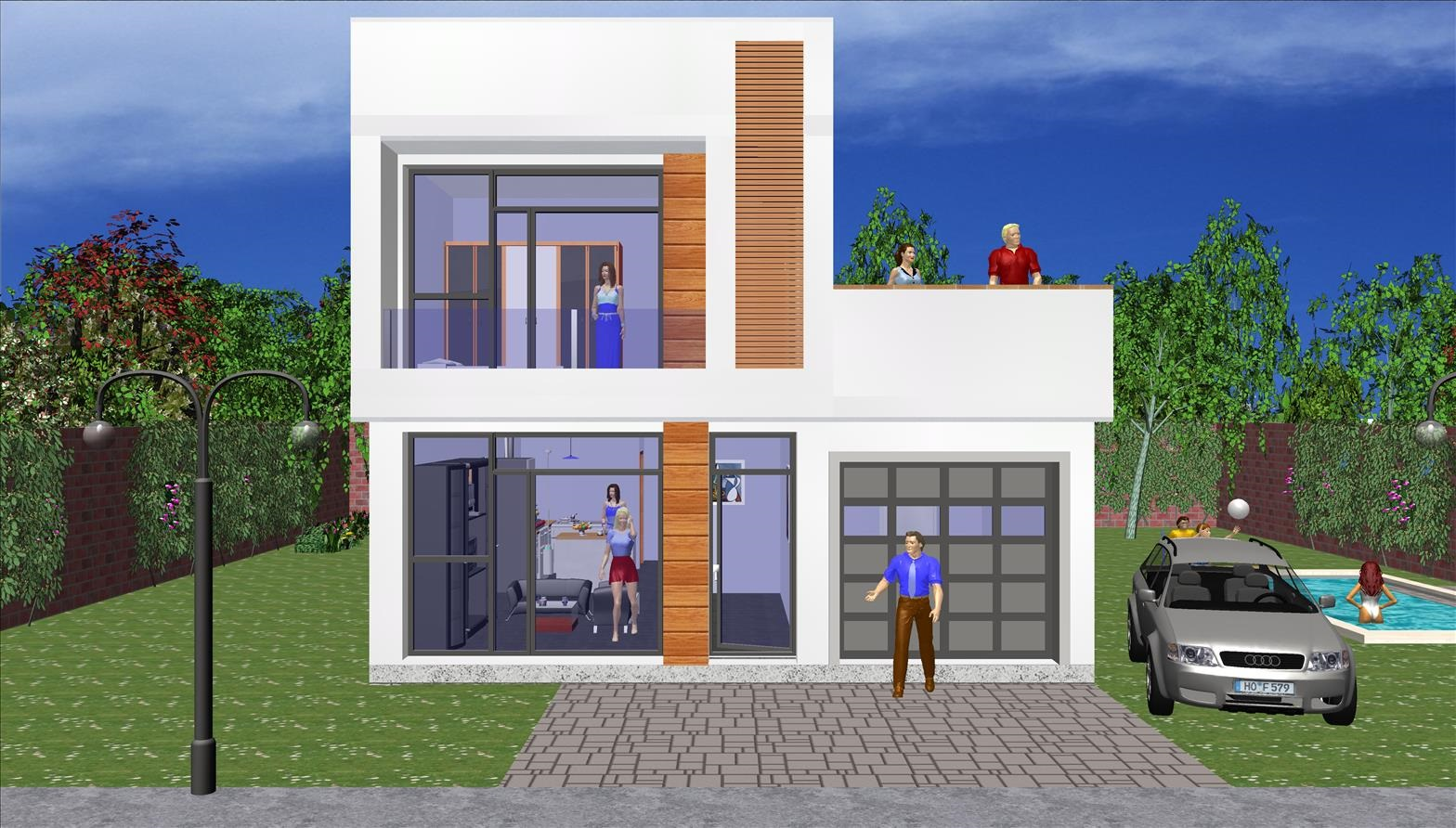 Maison moderne 122,22 m² Terrasse Gratuit Prix 122.945,38 € TTC – Conforme à la RT 2020
