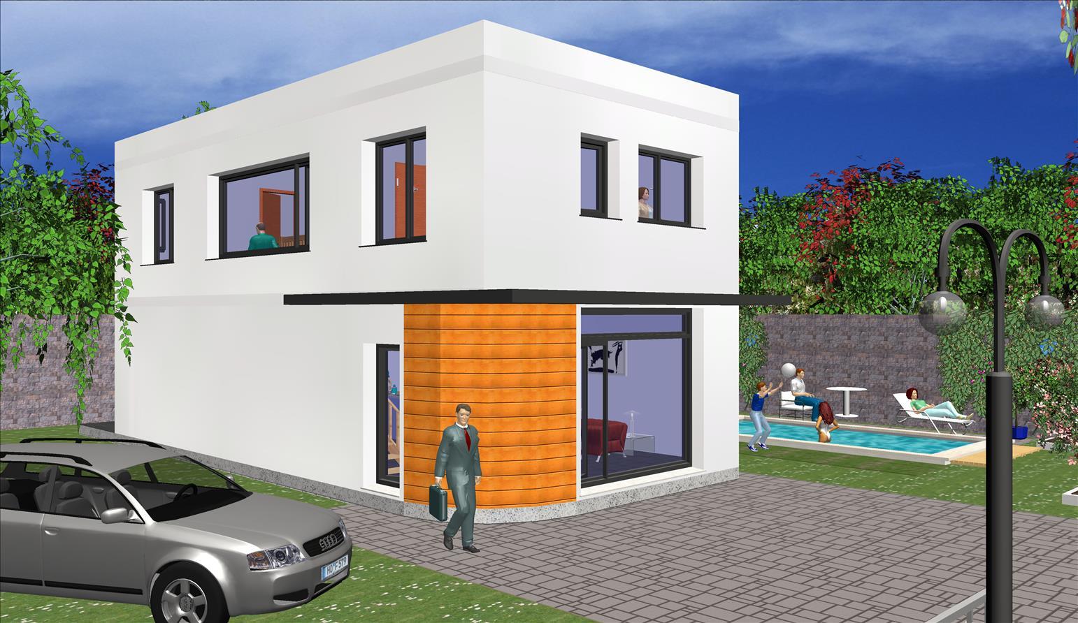 maison moderne 45