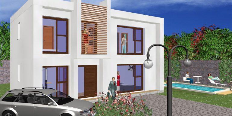 Modele de maison moderne