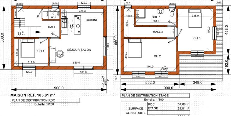 PLAN maison 105,81