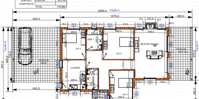 PLAN maison 175,39