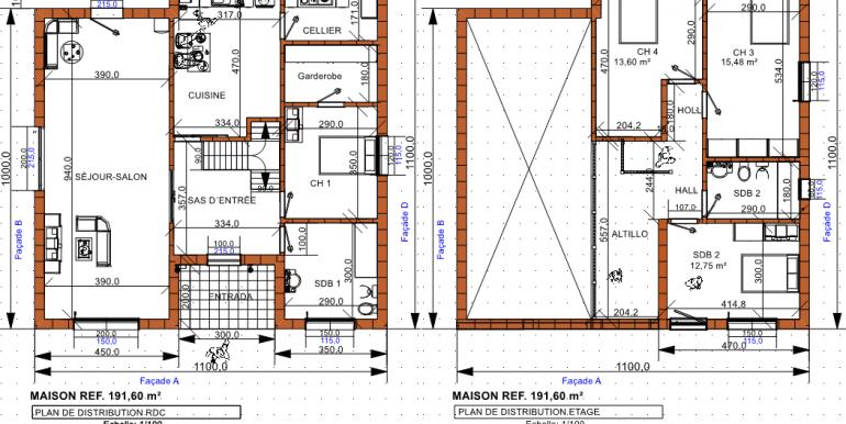PLAN maison 191,60