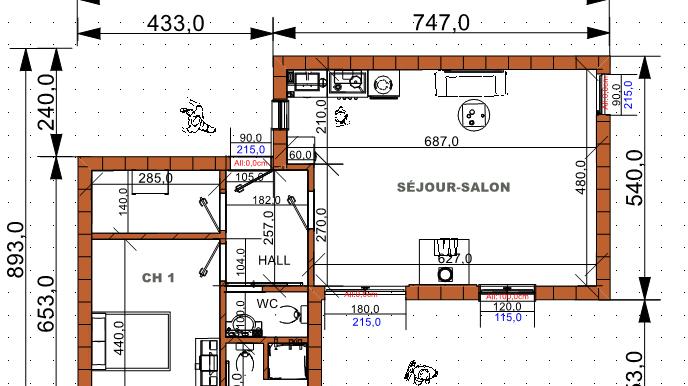 PLAN maison 72,16