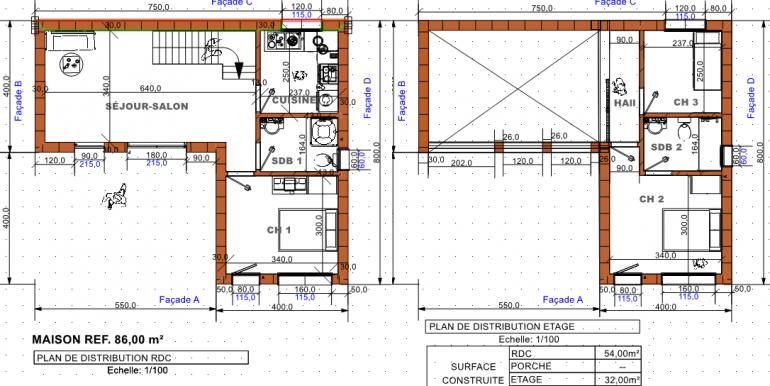 PLAN maison 86