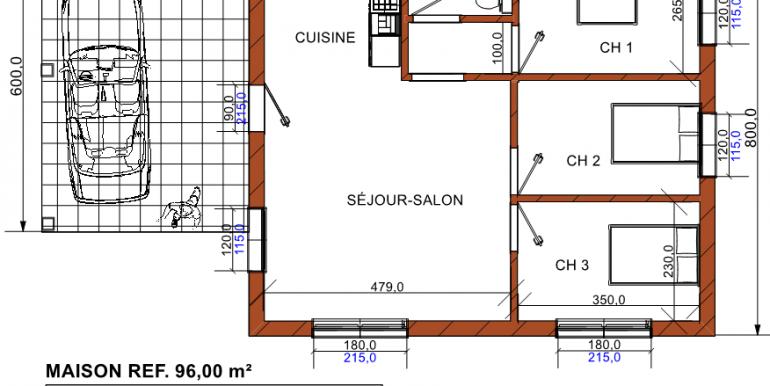 PLAN maison 96 00