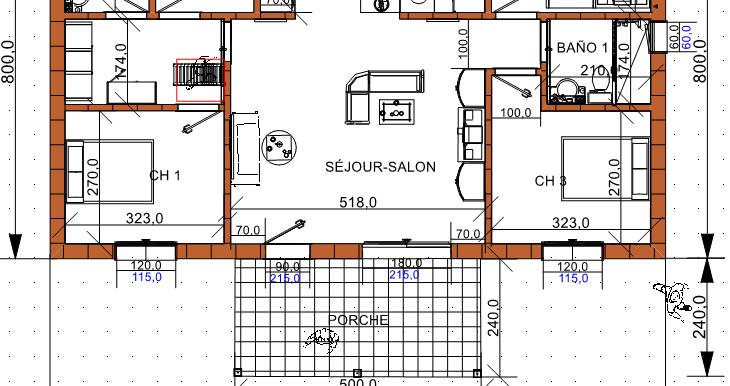 Plan maison 112 B