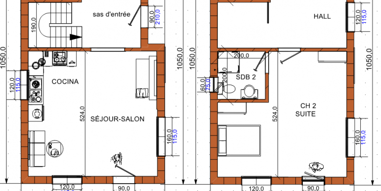 Plan maison 126