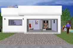 CONSTRUCTION DE MAISONS MODERNES Toiture terrasse Gratuit!
