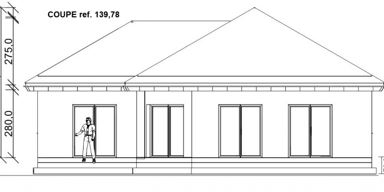 coupe 139,78 m²