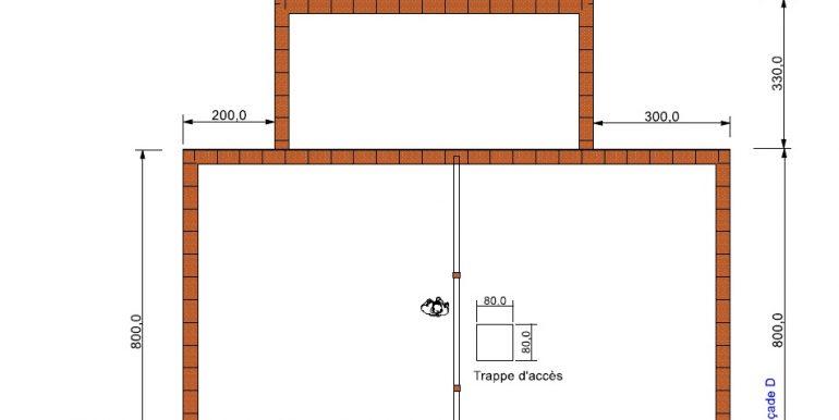 plan COMBLES Maison 119,10 m2