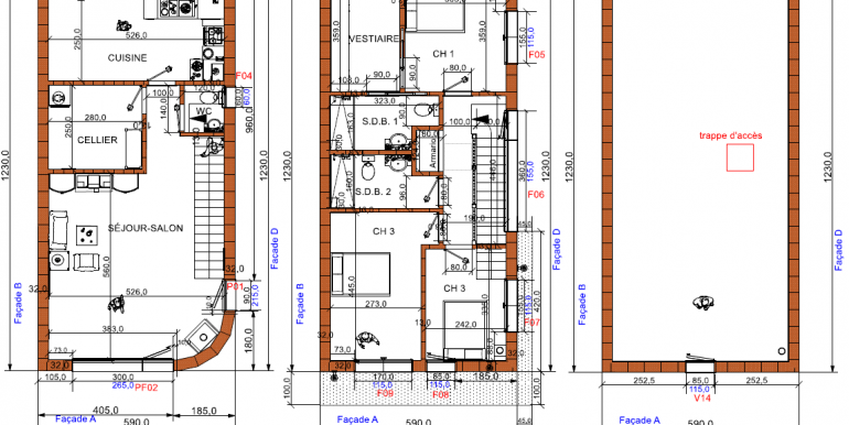 plans Maison ossature bois prix
