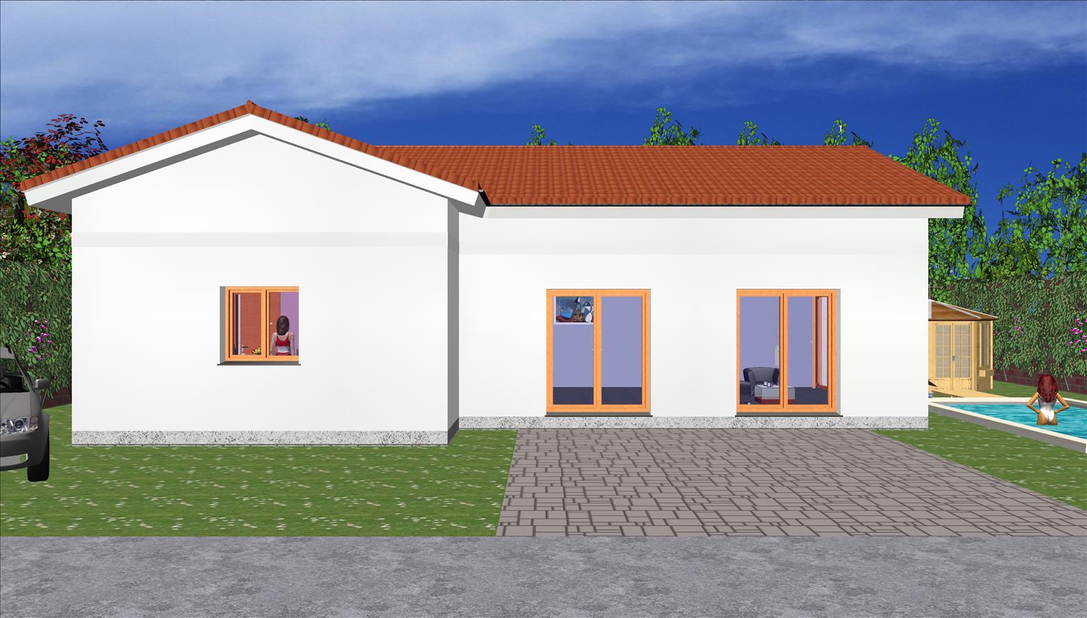 Maison  133,24 m² avec combles – Prix Nous Consulter Conforme à la RT 2020 –
